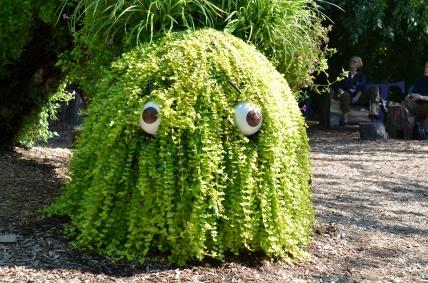 At the Everett Children's Garden in the New York Botanical Garden.