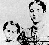 Sarah Briggs with child