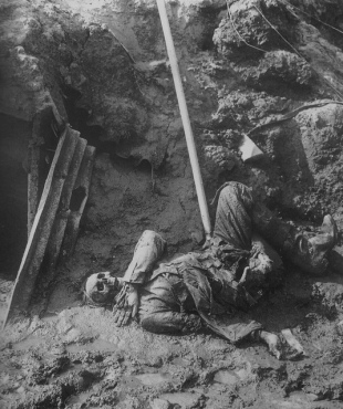 Corpse in Trench