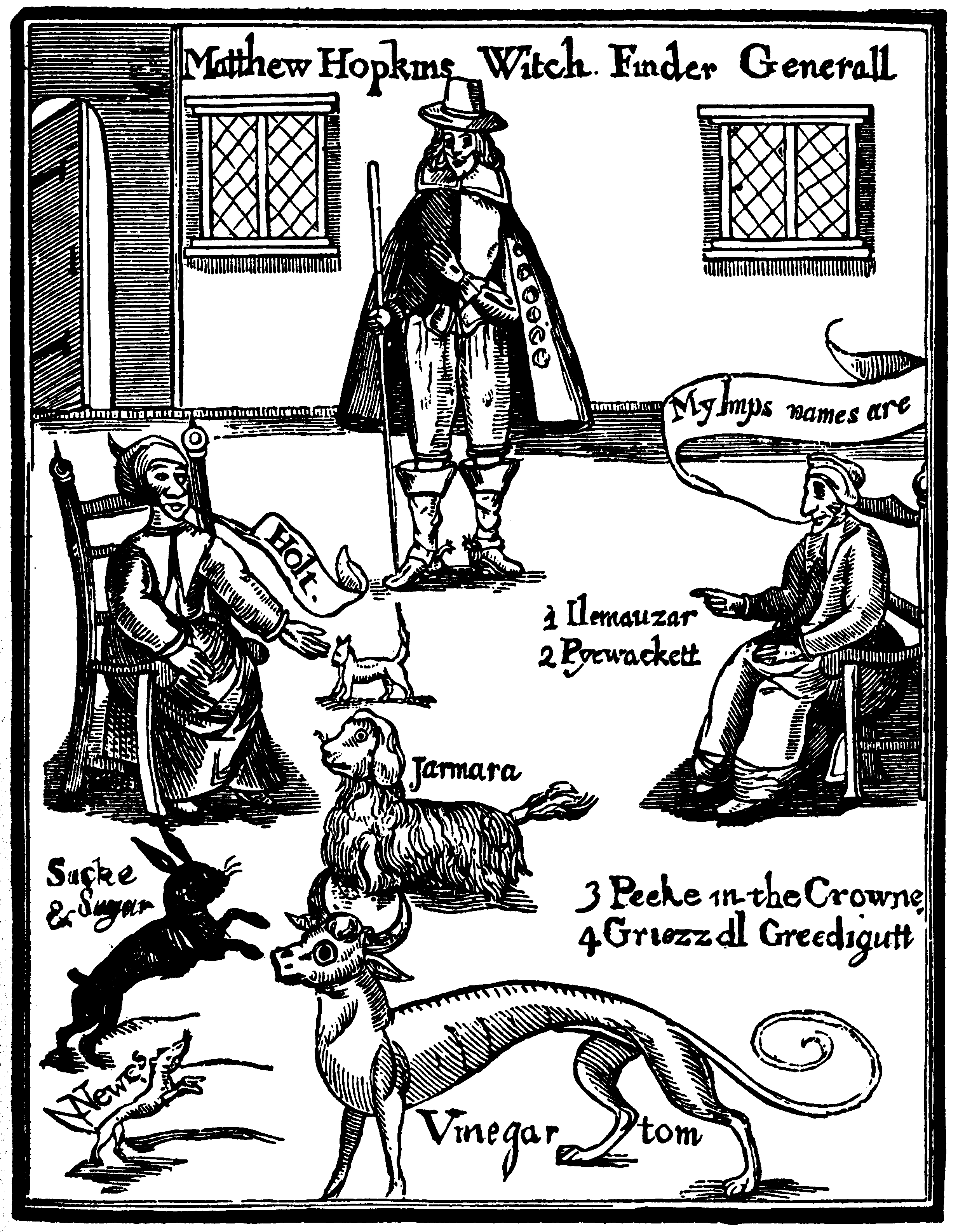 matthew_hopkins with witch familiars