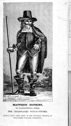 Matthew Hopkins, Witch-finder.