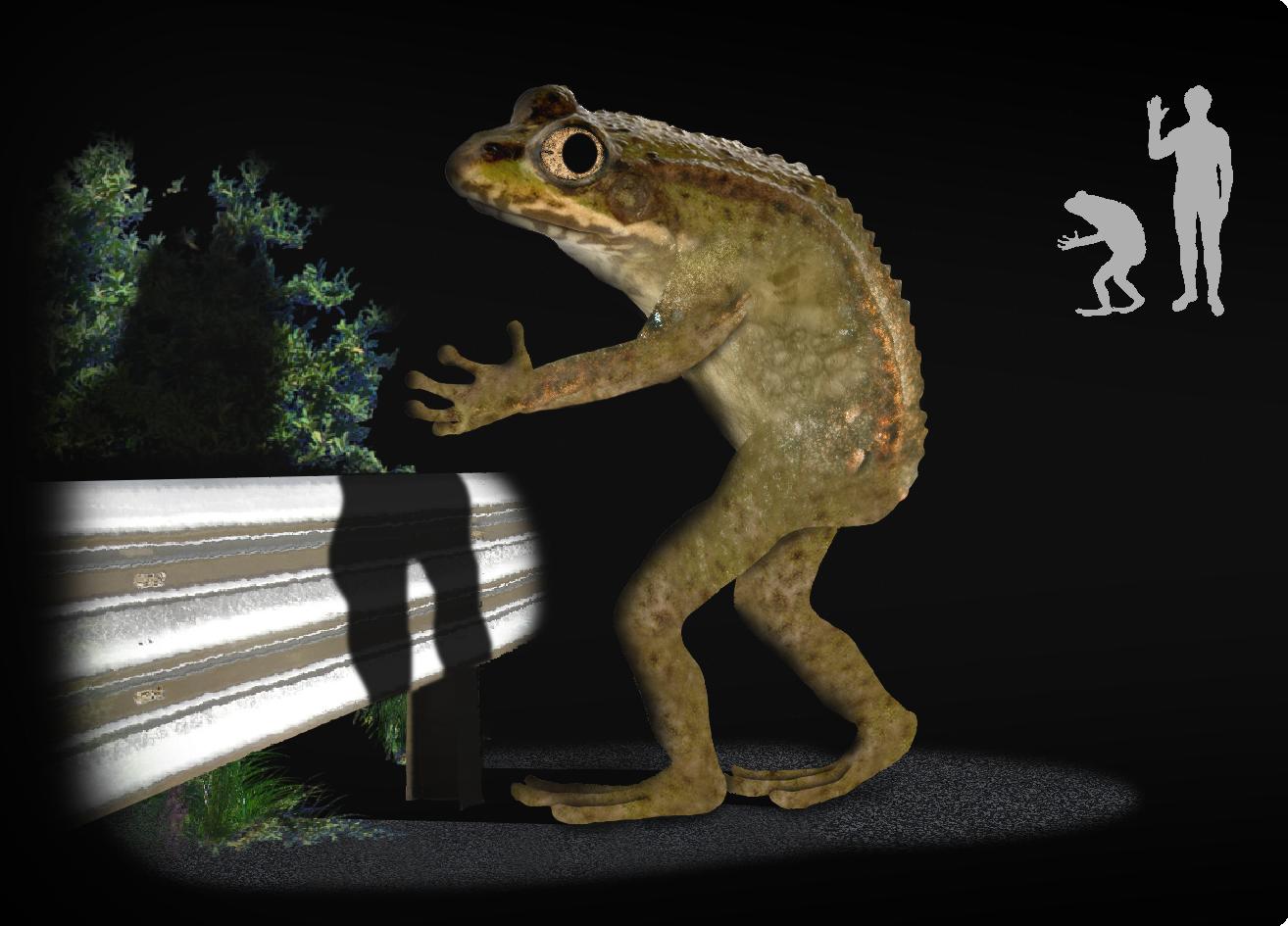 loveland frogman illustration