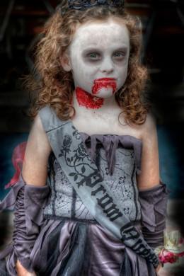 creepy child